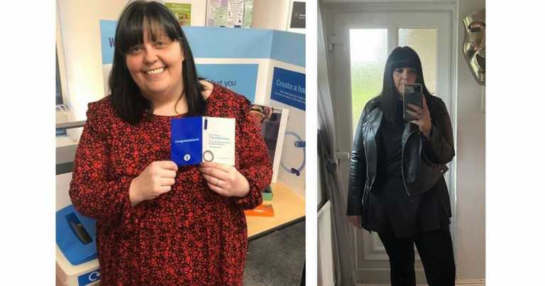 Bride-to-be says losing four stone saved her life