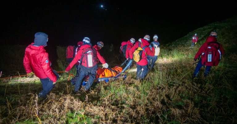 Couple's romantic Lake District getaway ends in extensive rescue mission