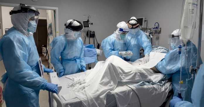 Covid hospitalizations surge as virus enters alarming new phase in U.S.