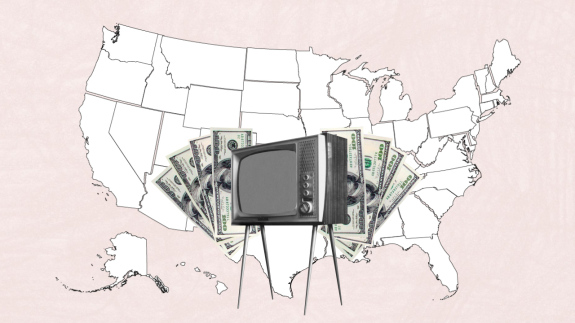 Democrats And Republicans Are Spending Millions On TV Advertising. Will It Even Make A Difference?