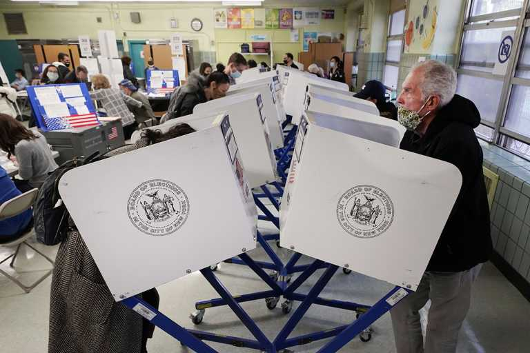 Exit polls find most voters made their choice for president well in advance