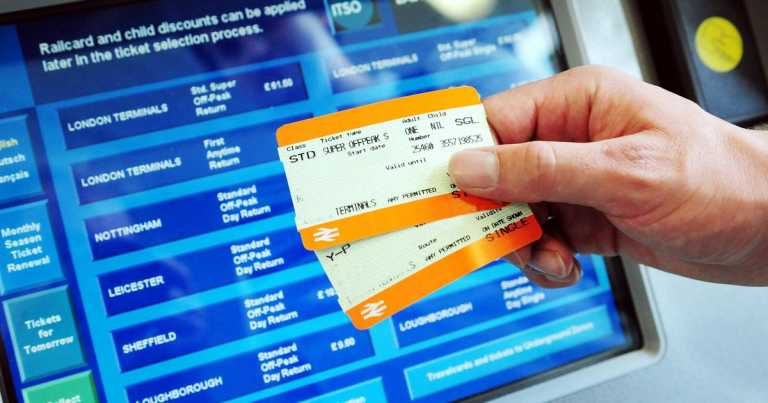 Fees scrapped for students who rebook Christmas train tickets