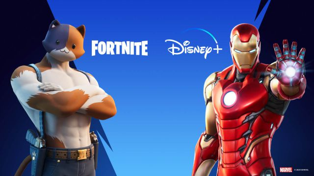 Fortnite gives you two months of Disney + when you buy it