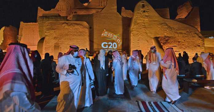 G20 leaders meet to discuss help for poorest nations in post-Covid world, Trump golfs