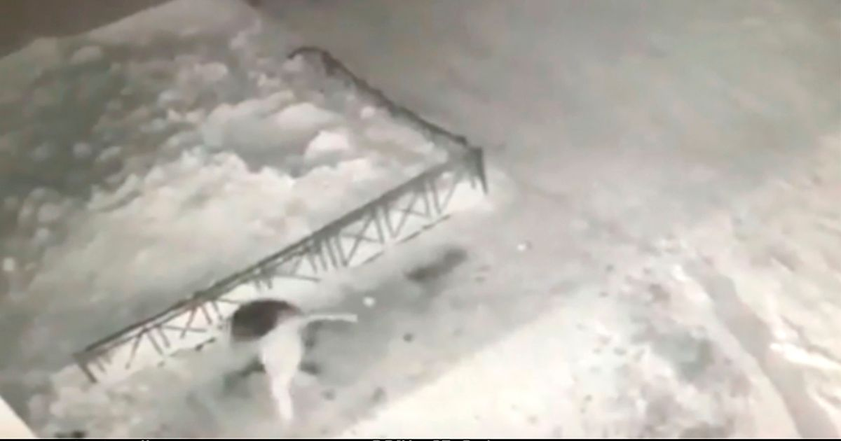 Girl, 6, falls 40ft from balcony but miraculously survives after landing in snow