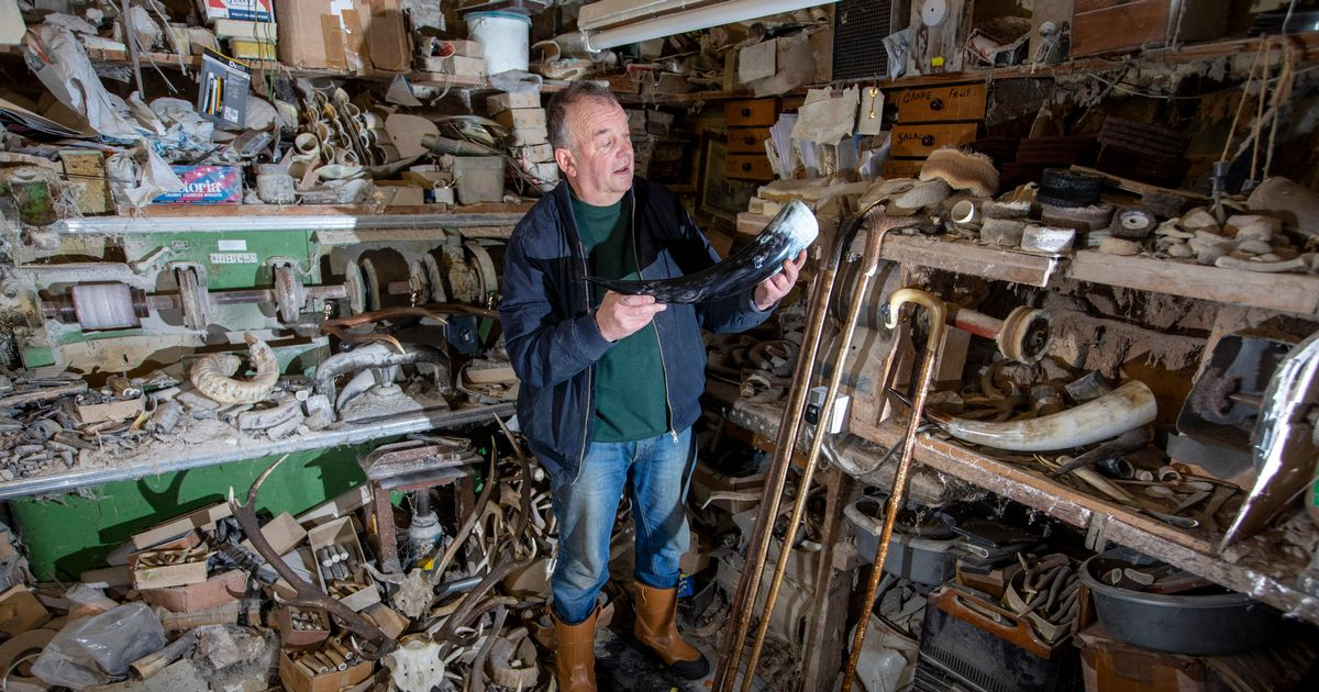 Horn and antlers craftsman believes the tradition still has a future