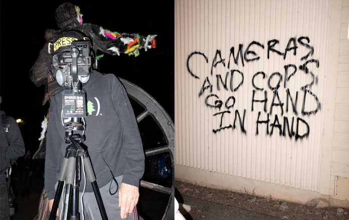 How Many Cameras Does One Protest Need?