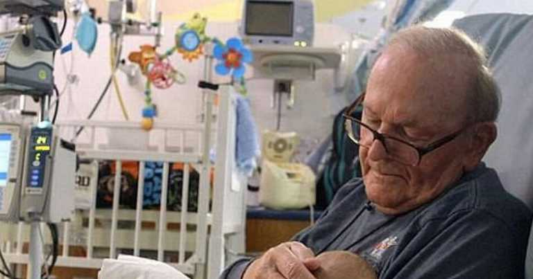 ICU grandad, 86, who cuddled sick babies for 14 years dies of pancreatic cancer