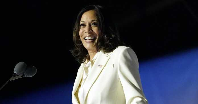 Kamala Harris's victory speech in full