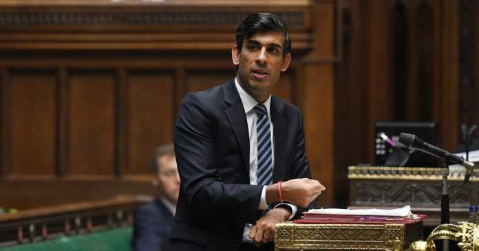 Live as Rishi Sunak announces new furlough rules and support packages