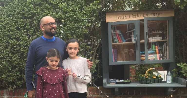 Man opens library in memory of wife who died minutes after their wedding
