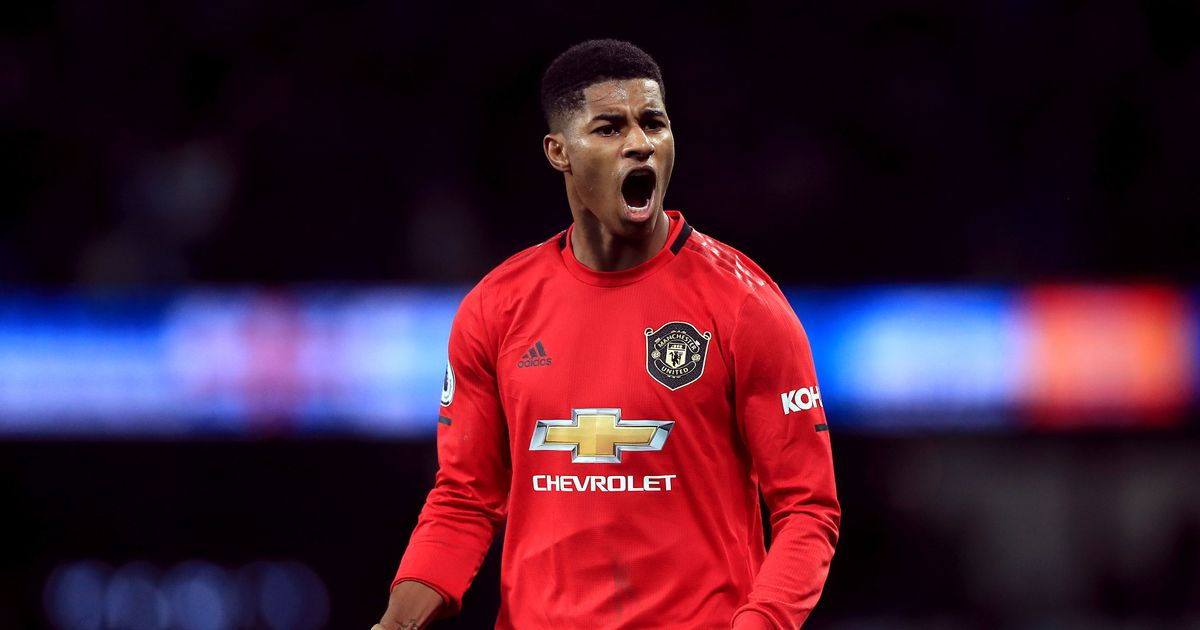 Marcus Rashford honoured in prestigious Football Black List 2020