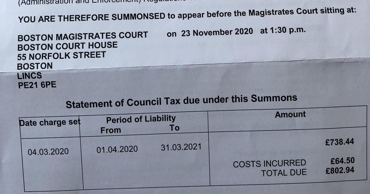 Mum gets court summons for paying her council tax 'one day too soon'
