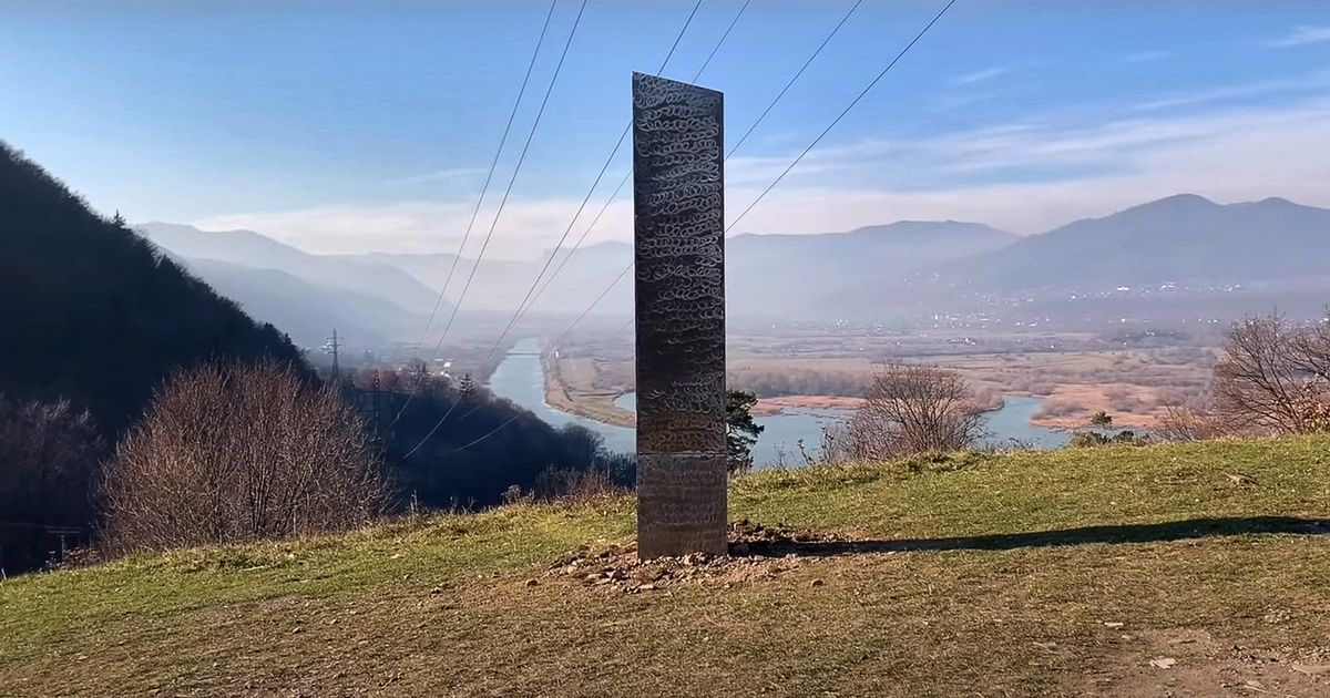Mystery monolith identical to one which disappeared in Utah reappears in Europe