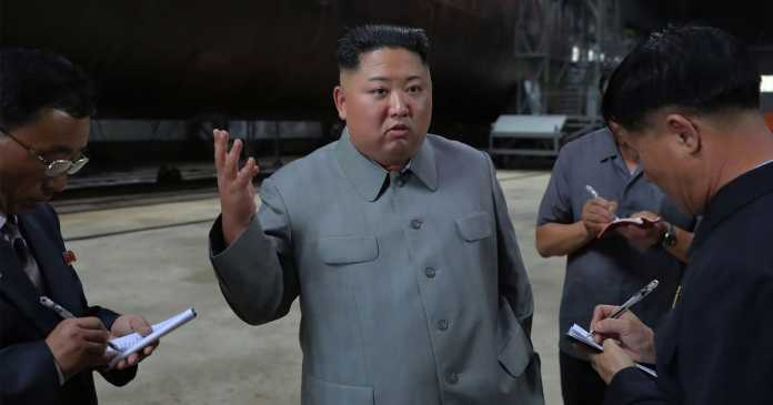 North Korea building two new submarines capable of firing ballistic missiles