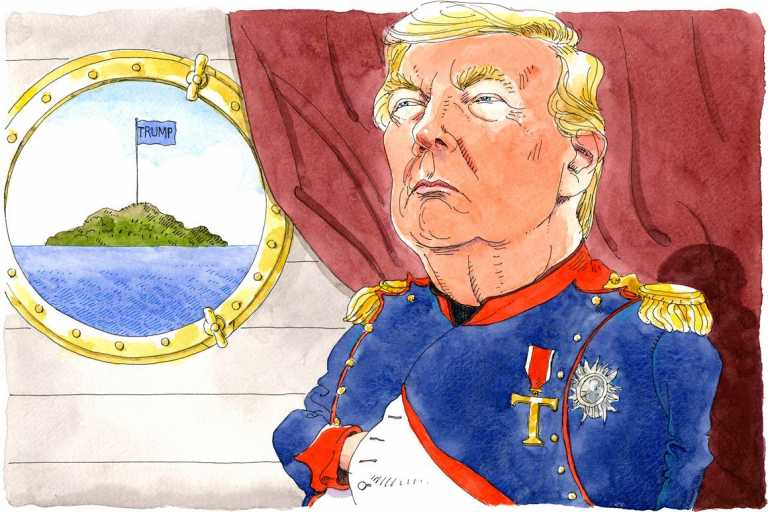 Opinion | The Case for Political Exile for Donald Trump