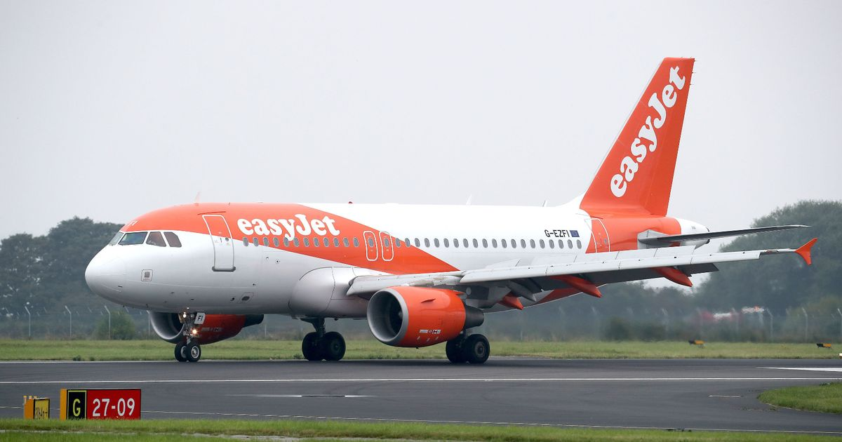Packed easyJet flight feet from disaster after narrowly missing drone