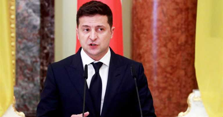 Pandemic, protests and conflict: Ukraine sours on comedian-turned-president