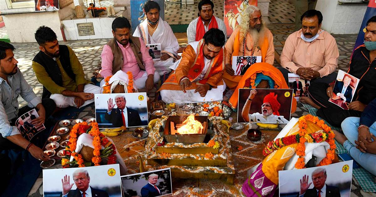 Prayers held in India for Kamala Harris victory, and for Donald Trump