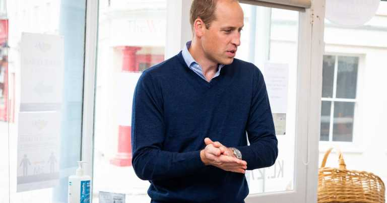 Prince William 'tested positive for Covid-19'