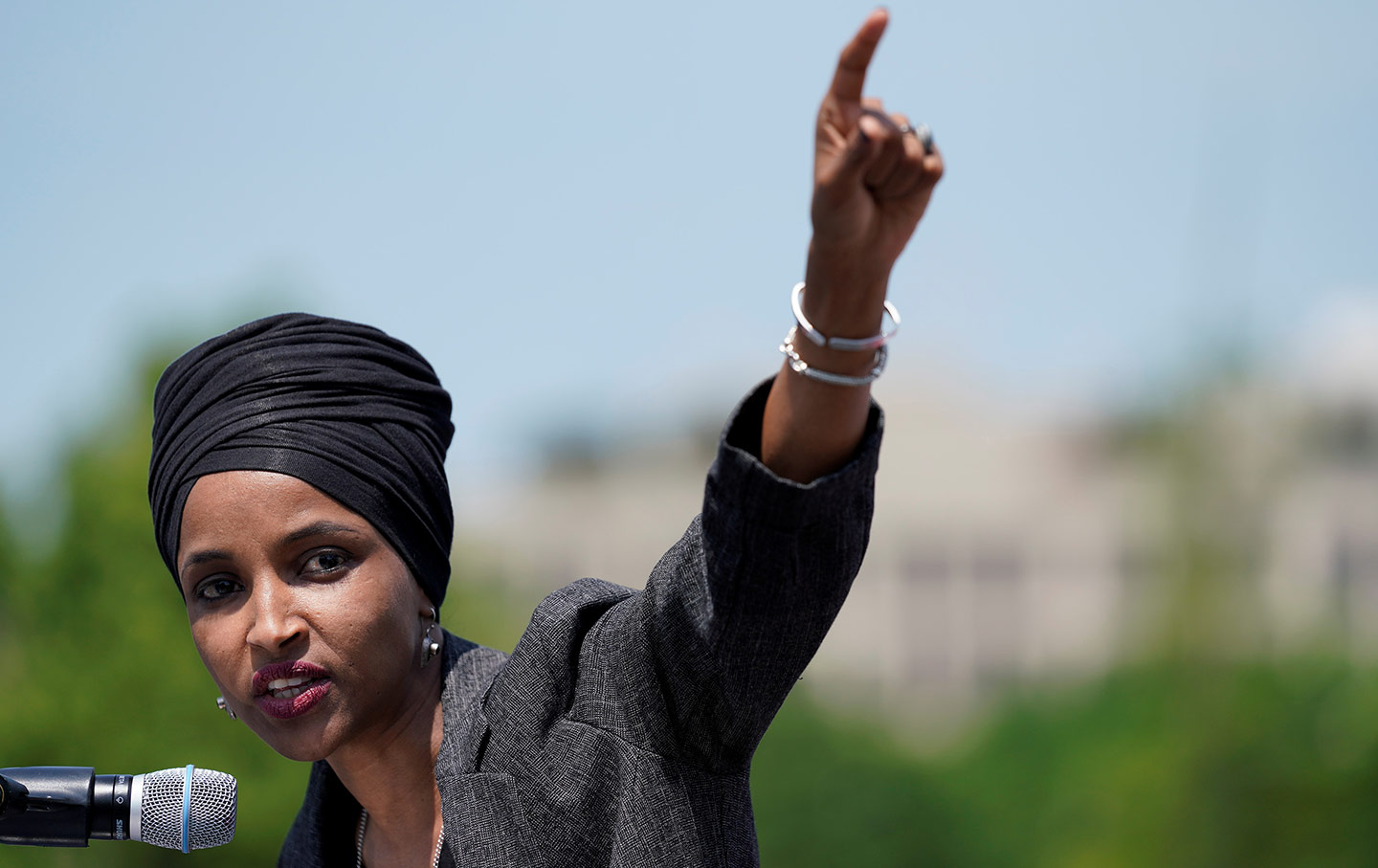 Ilhan Omar Rally On The Hill