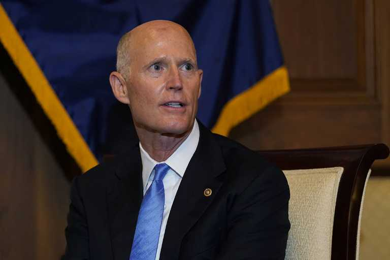 Rick Scott says he hopes to know who wins Florida on election night