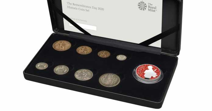Royal Mint release coin marking 100 years since Unknown Warrior's burial