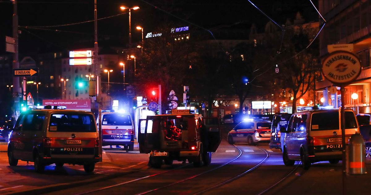 Shooting, injuries reported in central Vienna
