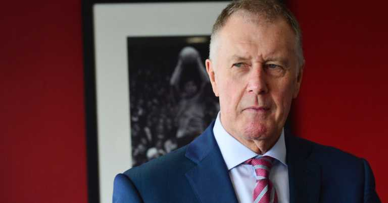 Sir Geoff Hurst demands restrictions on heading ball in fight against dementia