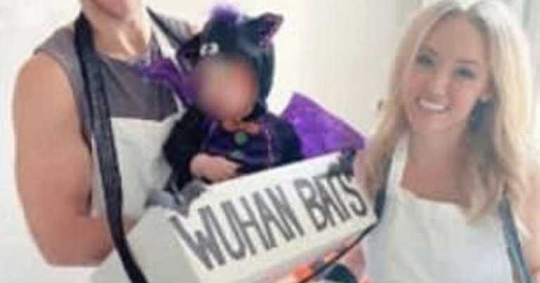 TV star sparks outrage after dressing up as a Wuhan street vendor selling bats