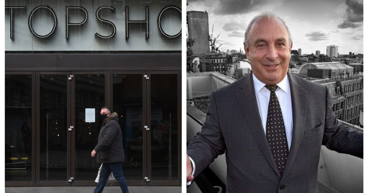 The Dorothy Perkins and Topshop owner has gone into administration