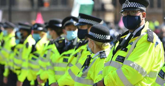 The police forces where 800 officers have been off sick with Covid-19