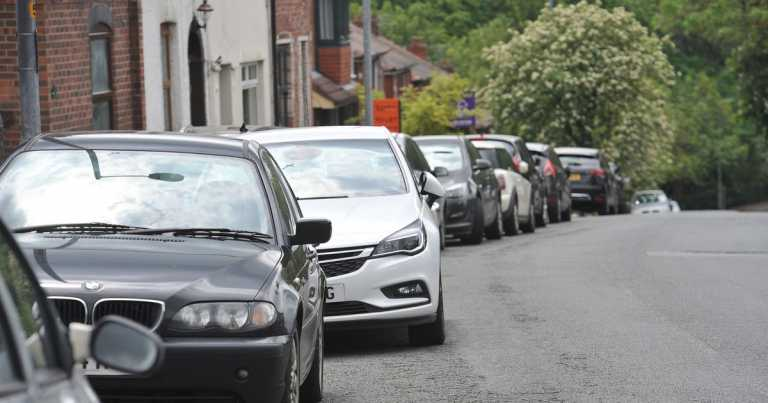 Thousands could face large fines for parking outside their home