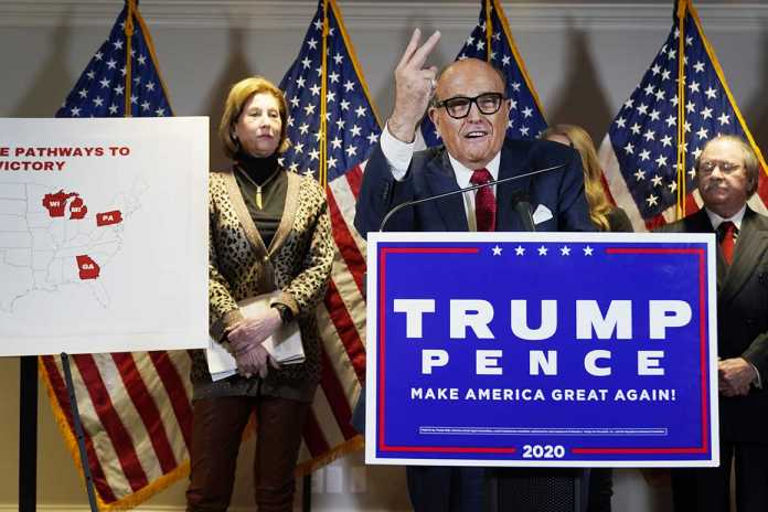 Trump gins up TV theatrics in election fight as lawsuits fizzle