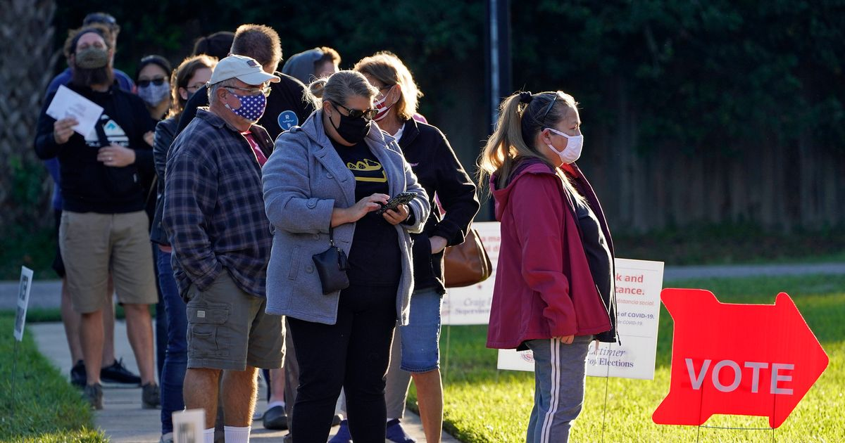 US election: One Florida precinct reports voter turnout of 102%