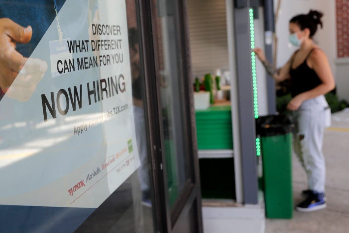 Jobless claims rise to 885,000 amid resurgence of virus