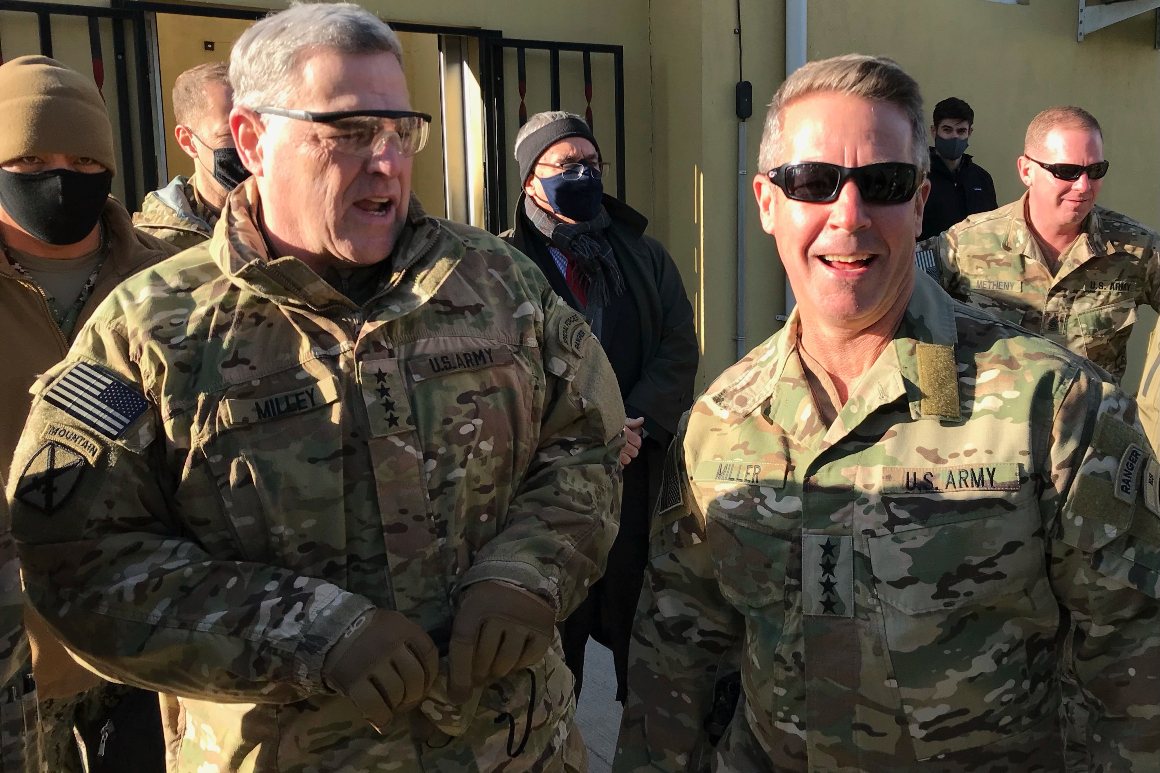 Joint Chiefs chairman meets with Taliban on peace talks