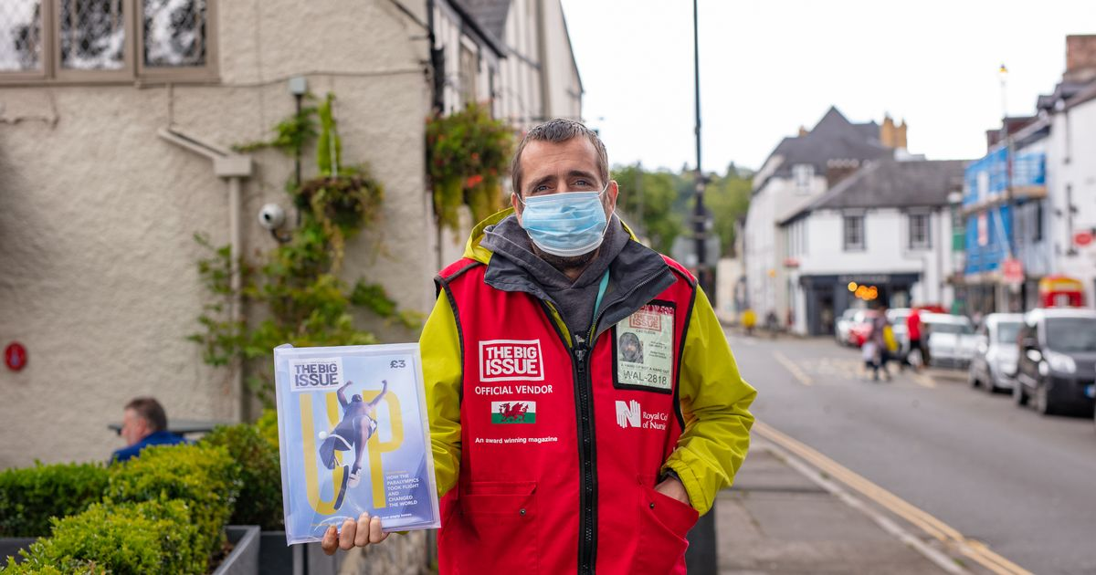 Latest Covid restrictions a 'devastating blow' for Big Issue sellers