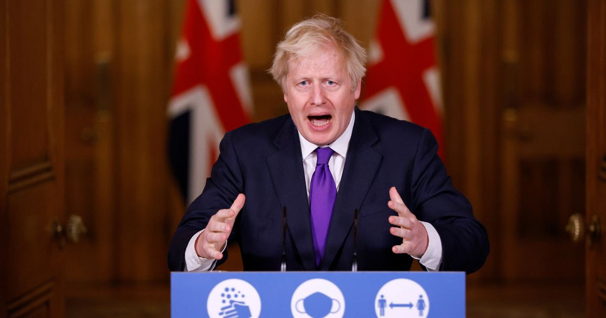 Live as Boris Johnson explains new Christmas Covid rules and tiers