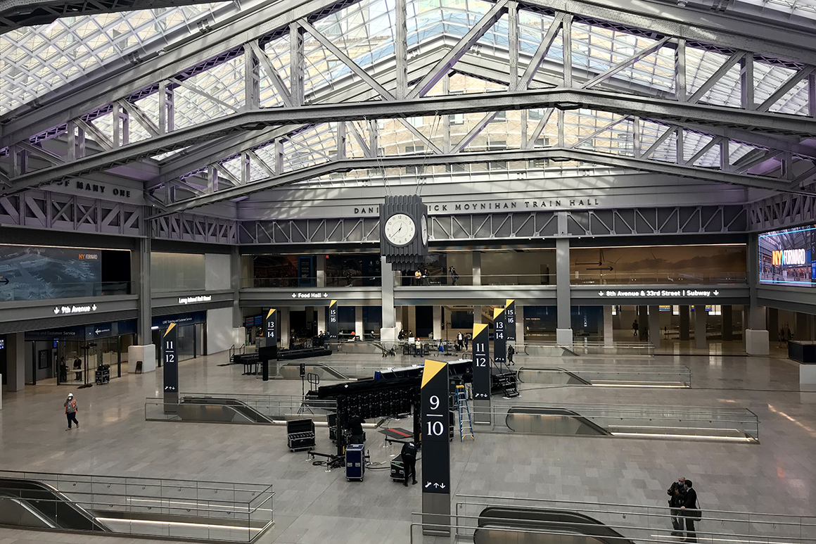 Moynihan Train Hall set to open in New York
