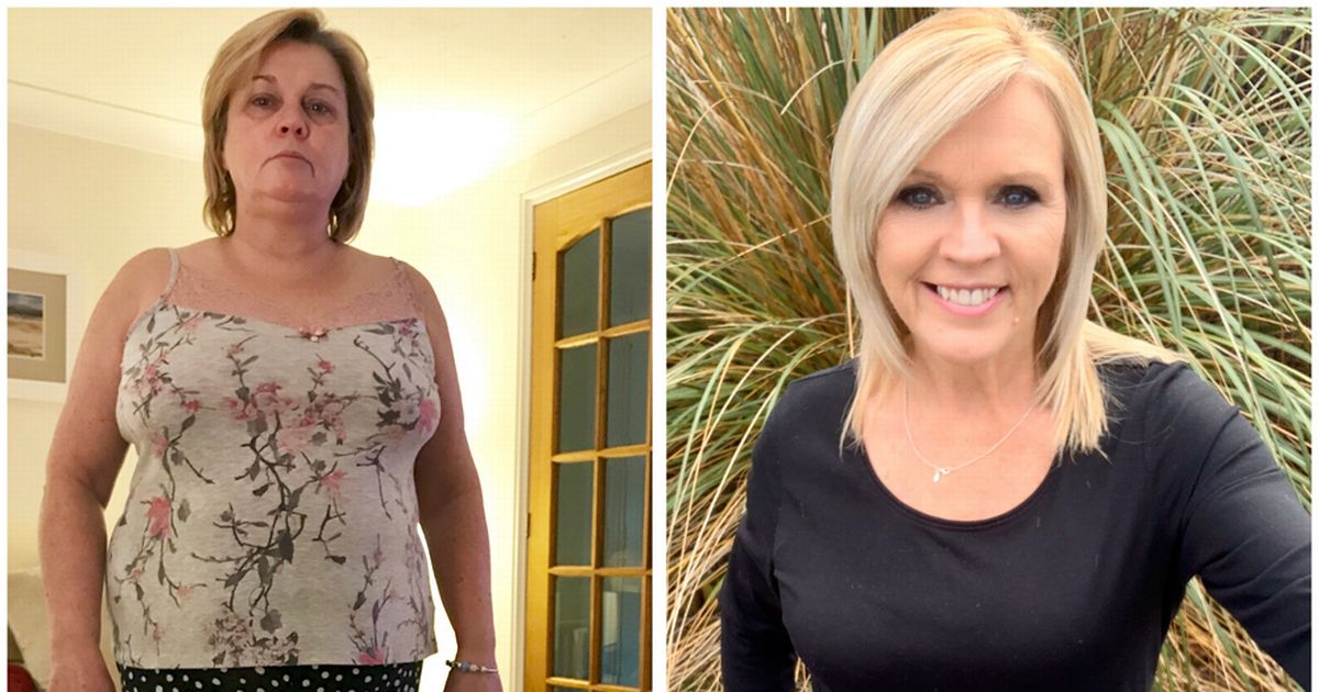 Mum lost nearly half her bodyweight after condition caused weight gain