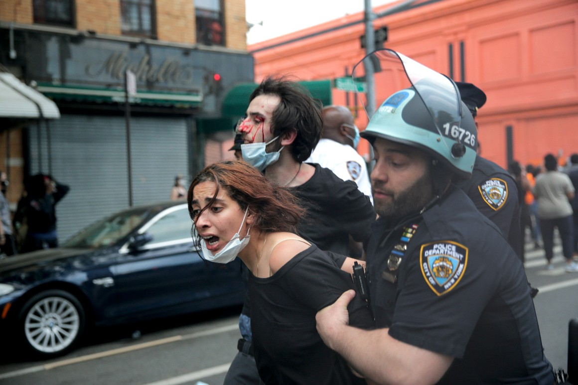 NYPD undermined public trust with aggressive protest response, watchdog agency finds