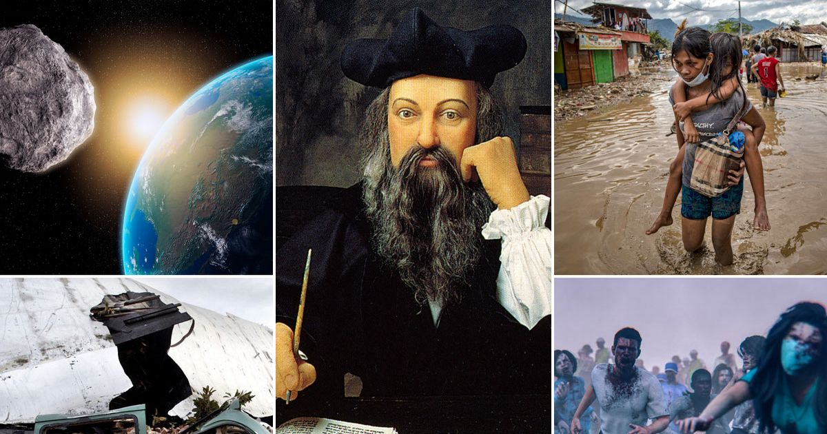 Nostradamus's predictions for 2021 aren't for the fainthearted