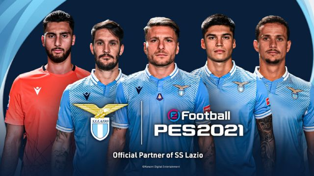 PES 2021 signs a collaboration agreement with SS Lazio