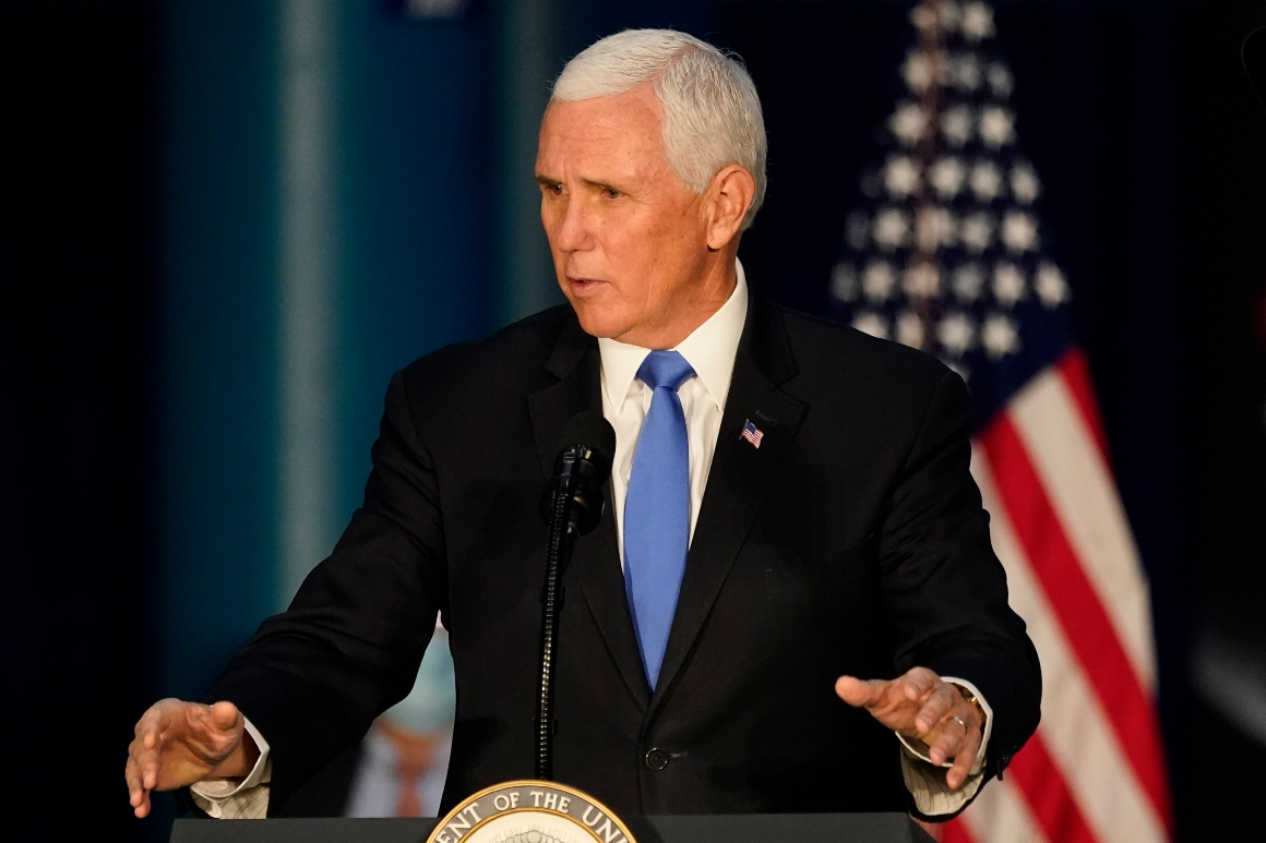 Pence announces Space Force members will be called 'guardians'