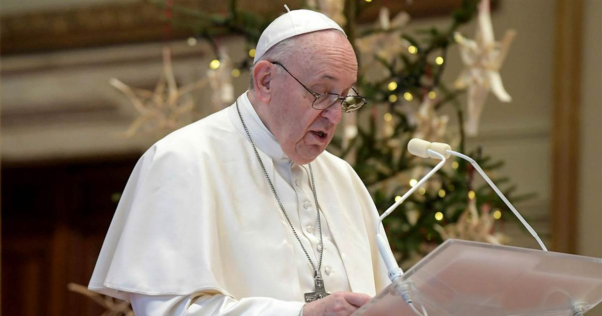 Pope Francis on vaccines: 'The most vulnerable and needy must be first'