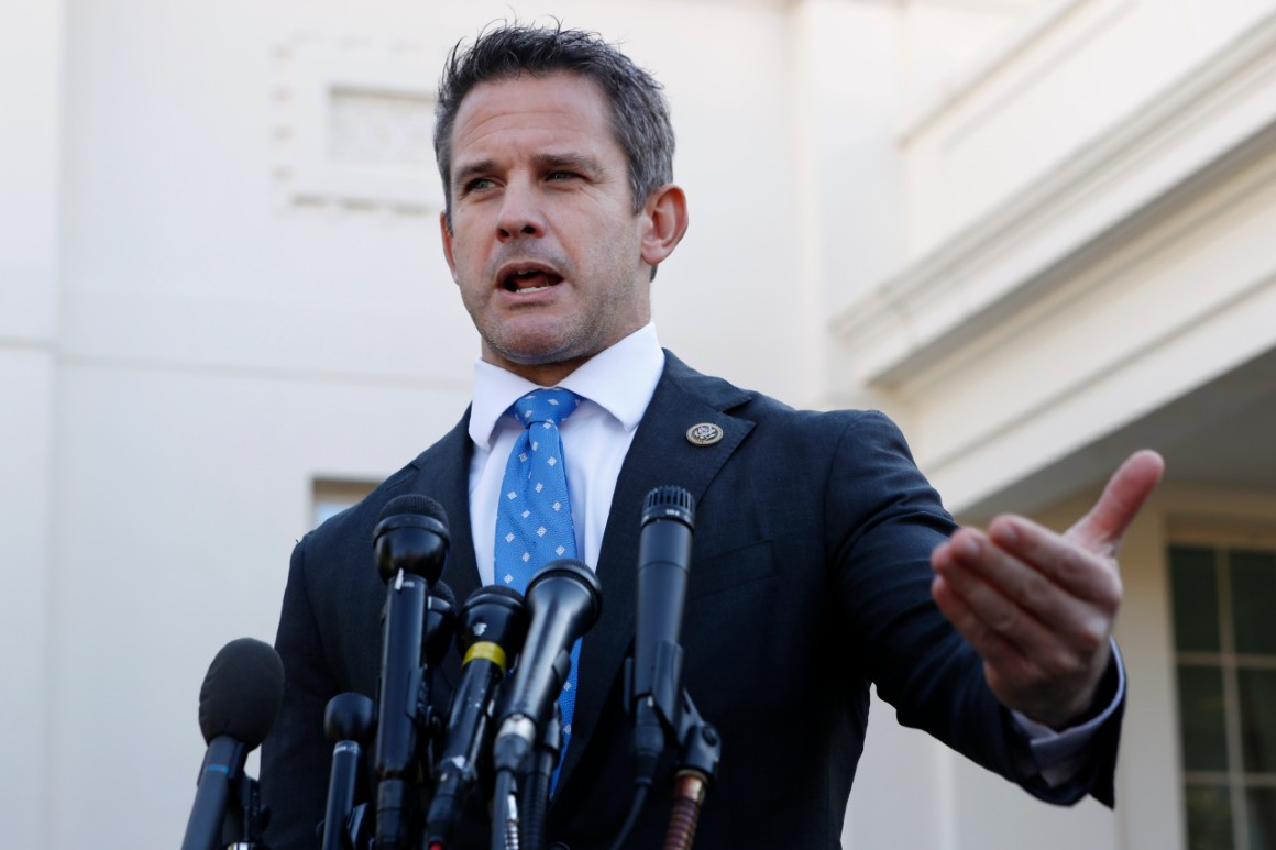 Rep. Kinzinger calls efforts to overturn election 'a scam'