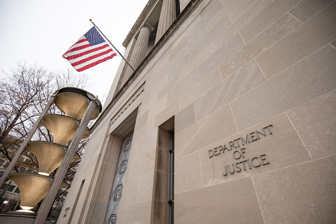 Trump aide banned from Justice after trying to get case info