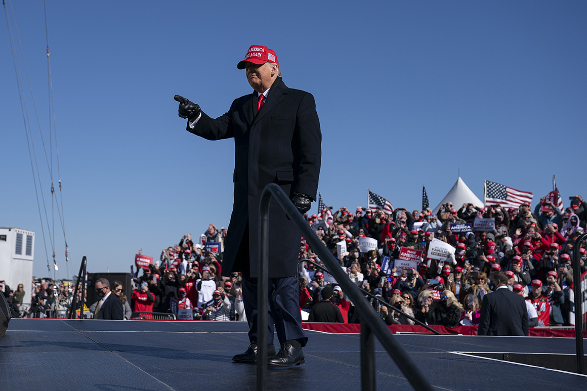 Trump teases 2024 run at White House event