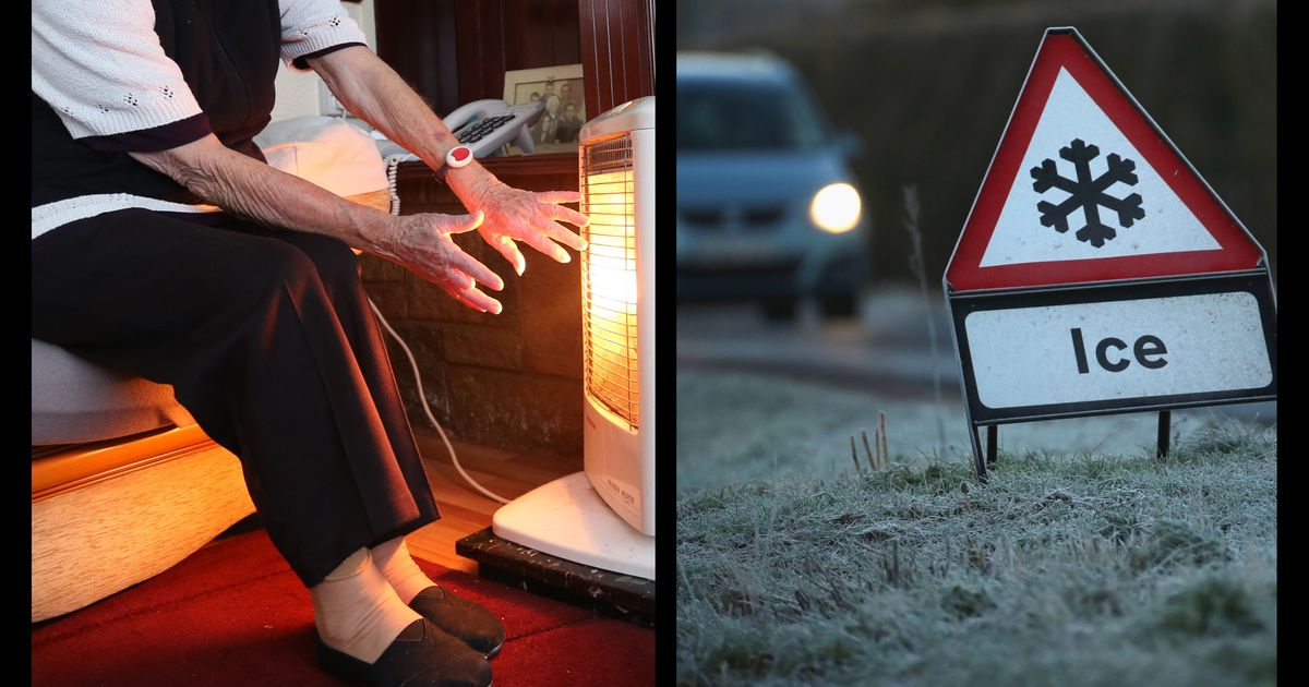 Vulnerable people warned of cold snap risk to health